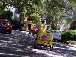 Kid favorites include Pedicab (bike cab) | Photo (c) Sandy Traub